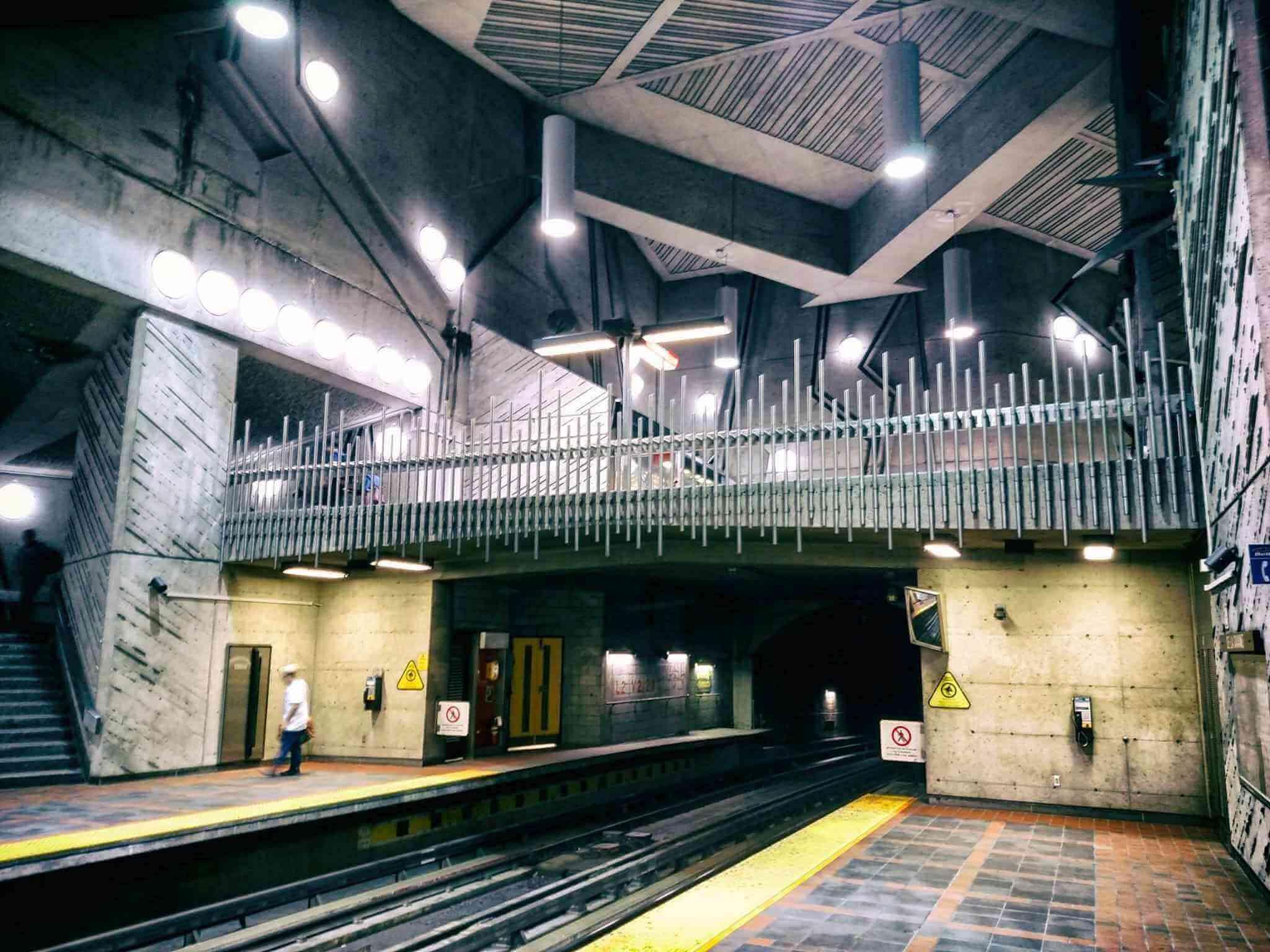 metro-station-Montreal, Canada