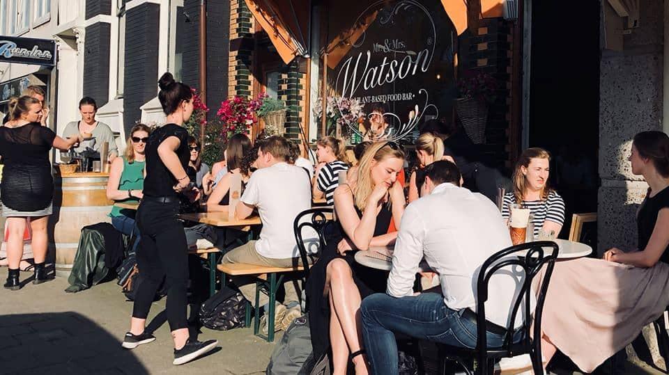 mr and mrs watson vegan food bar amsterdam