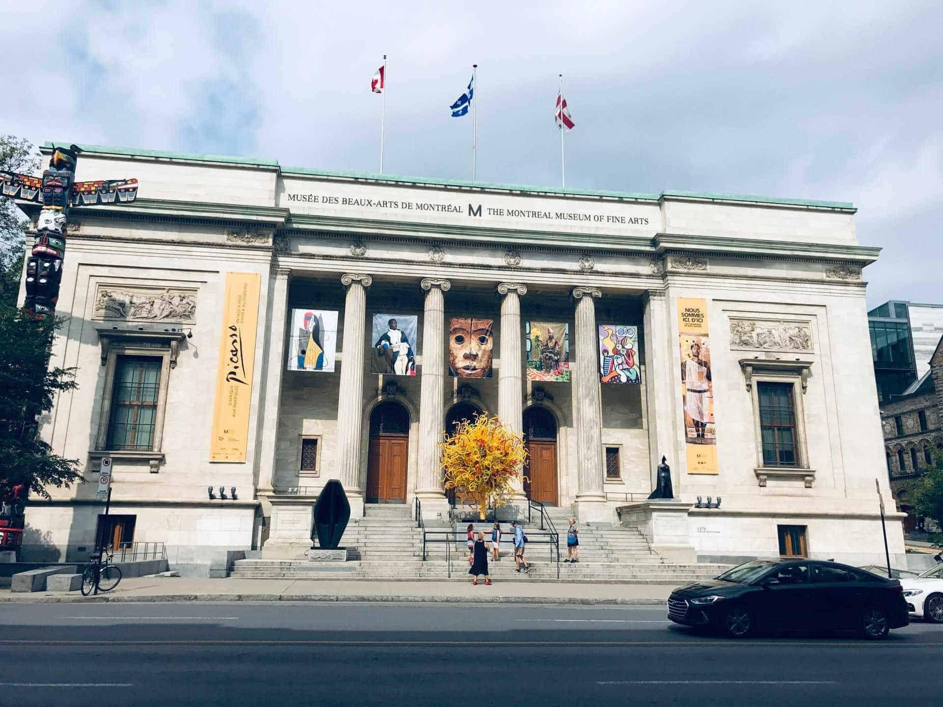museum-fine-arts-Montreal, Canada