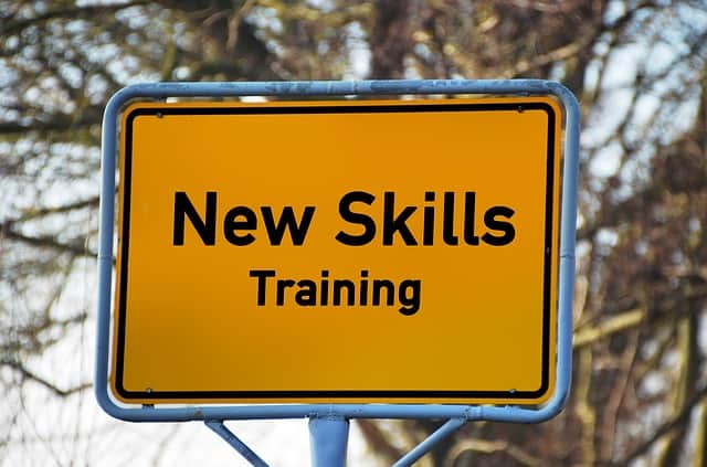 new-skills-training-board