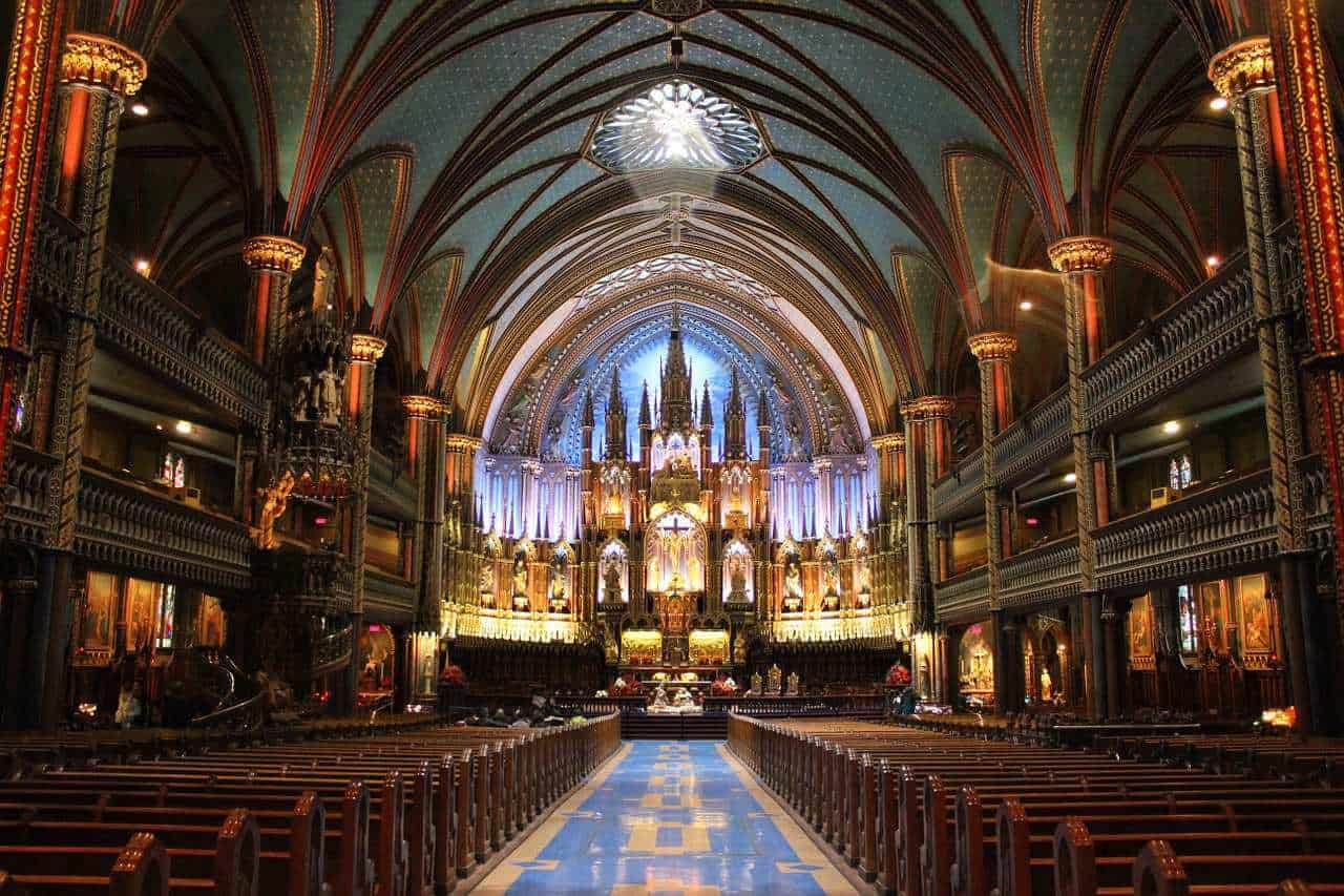 notre-dame-Montreal, Canada