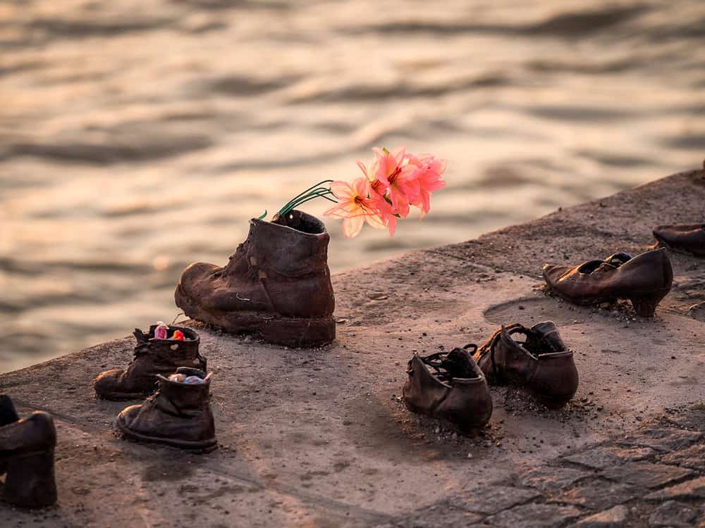 Shoes in the Danube, Budapest