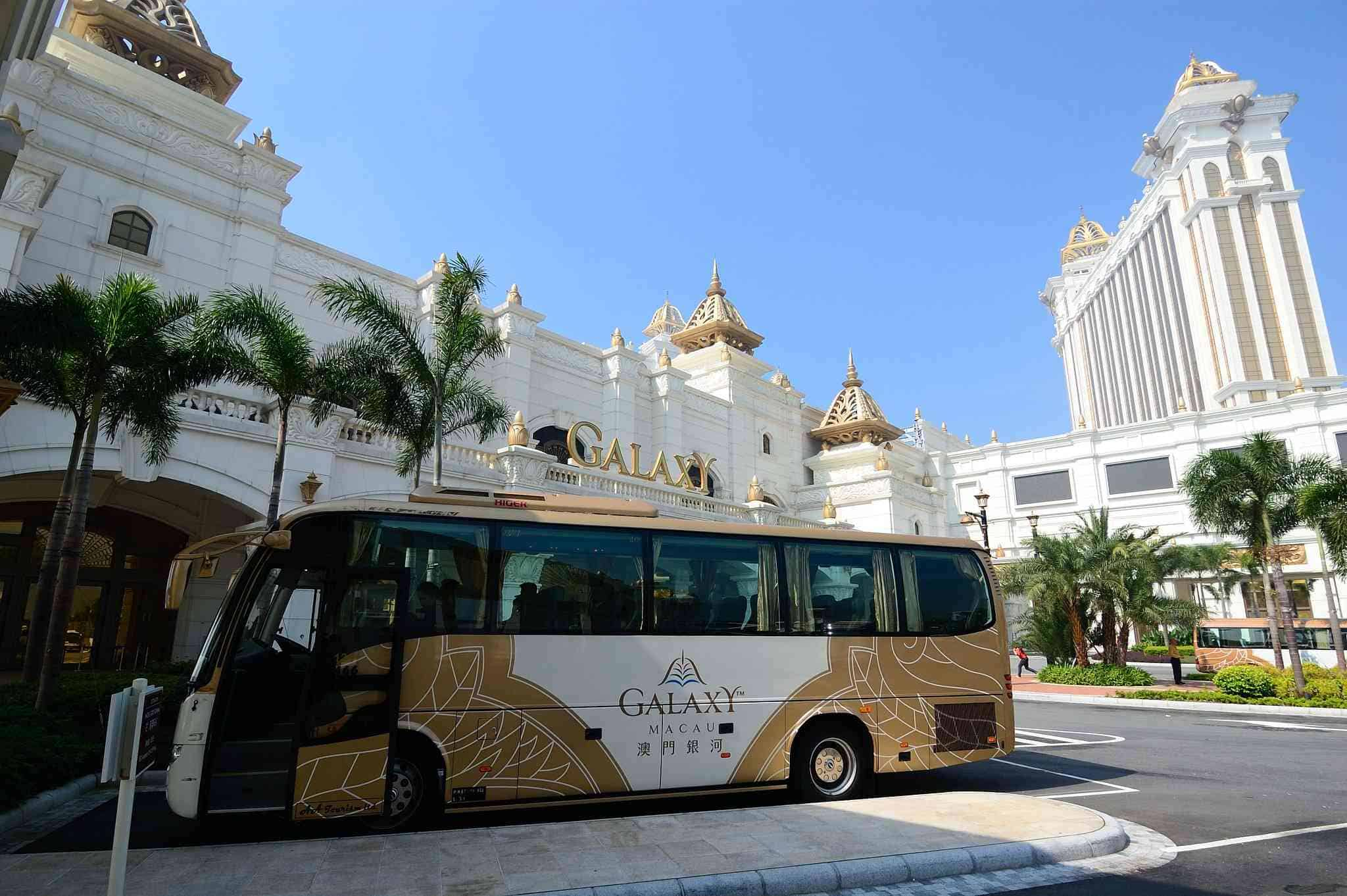 Get around the city for free with the Casino shuttles