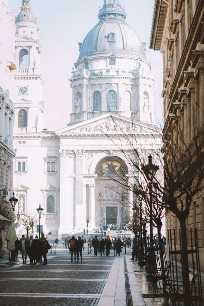st stephens cathedral in Budapest