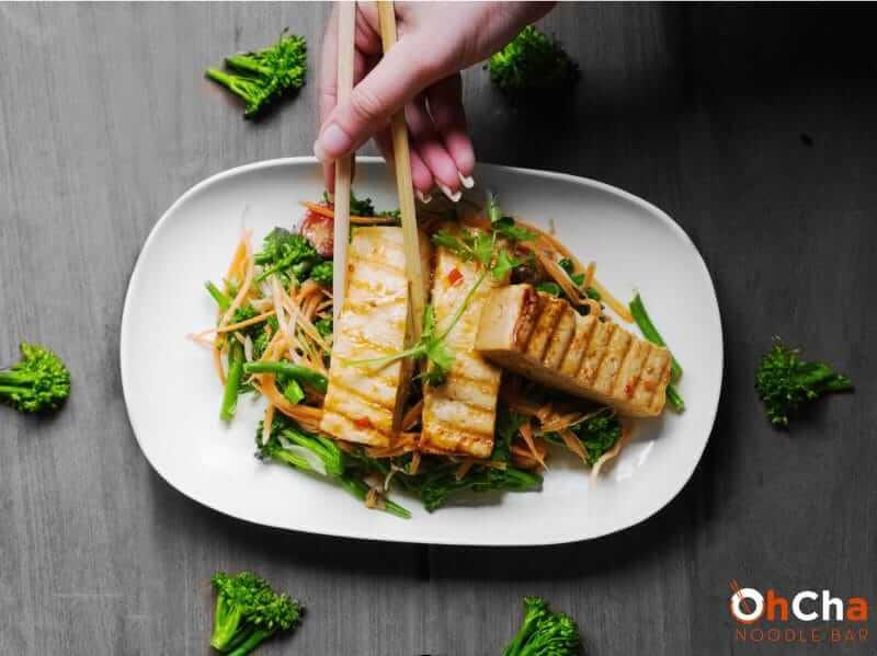 tofu salad ohcha noodle bar nairobi kenya