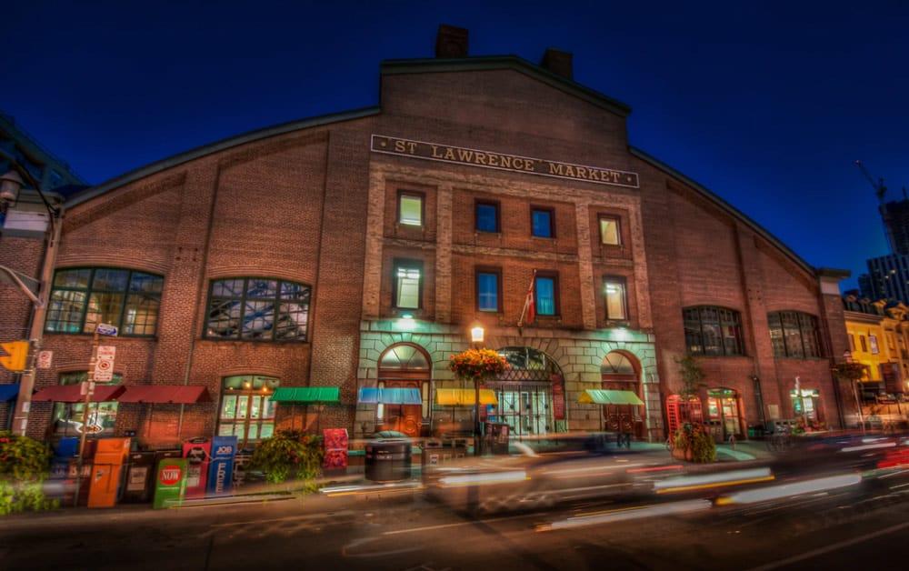 Toronto layover st lawrence market