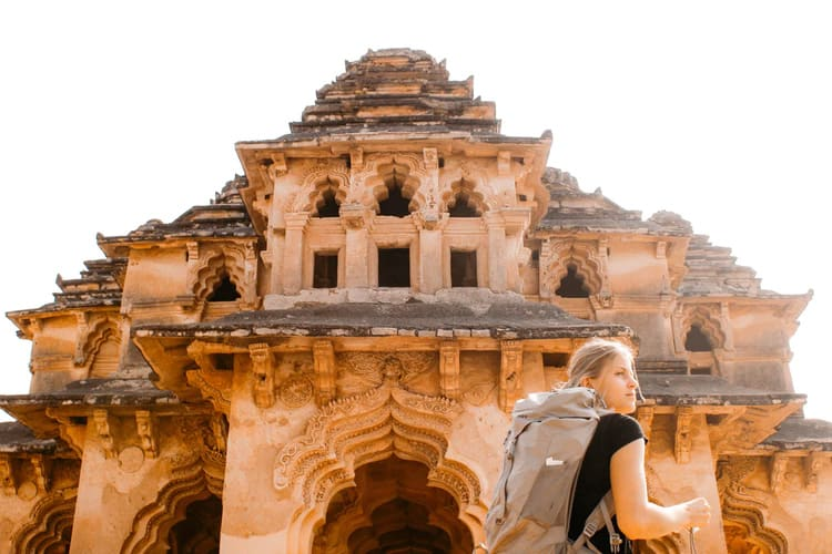 Travel podcast about where to go in India and heritage places in India