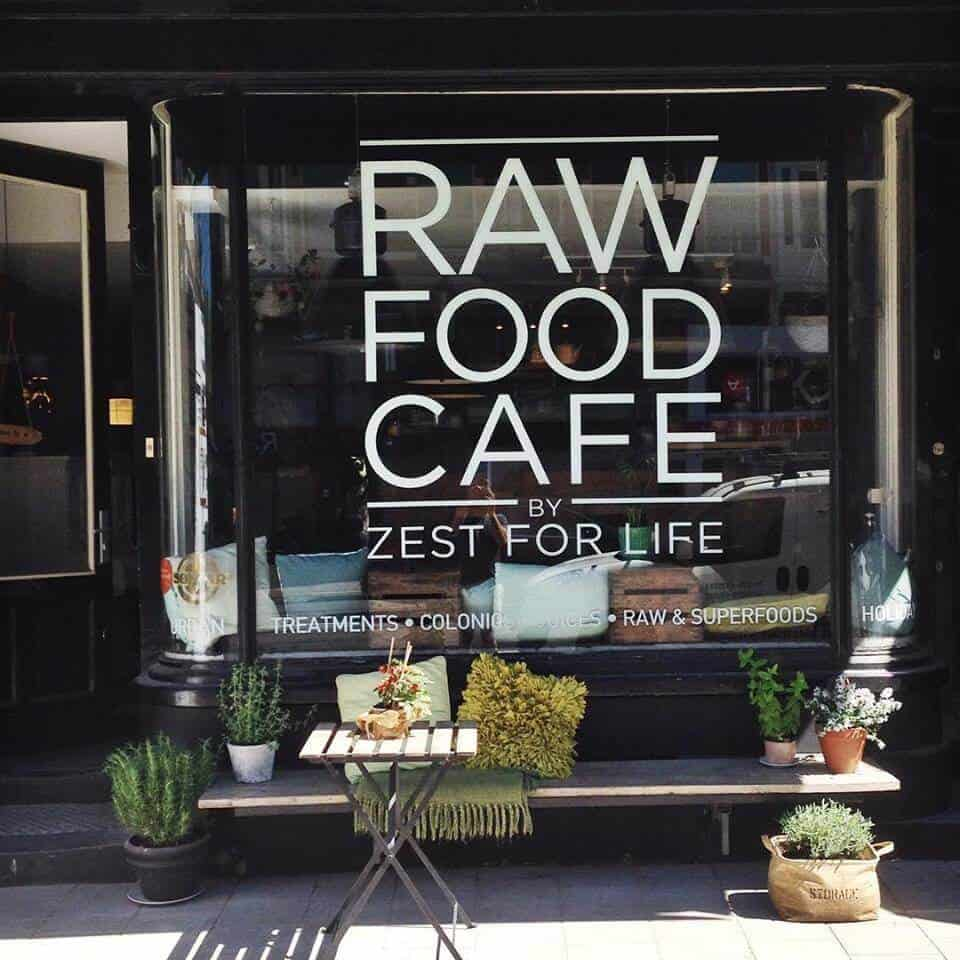 zest for life raw food cafe amsterdam